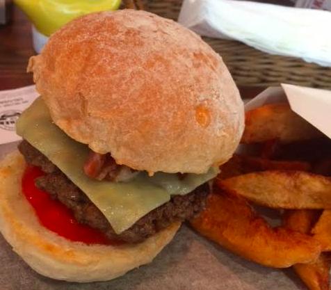 香港のハンバーガー