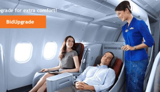 ガルーダ航空の入札でビジネスクラスに格安アップグレード