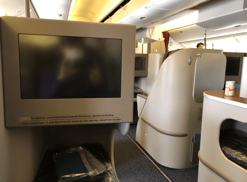 ガルーダ航空の日本語映画