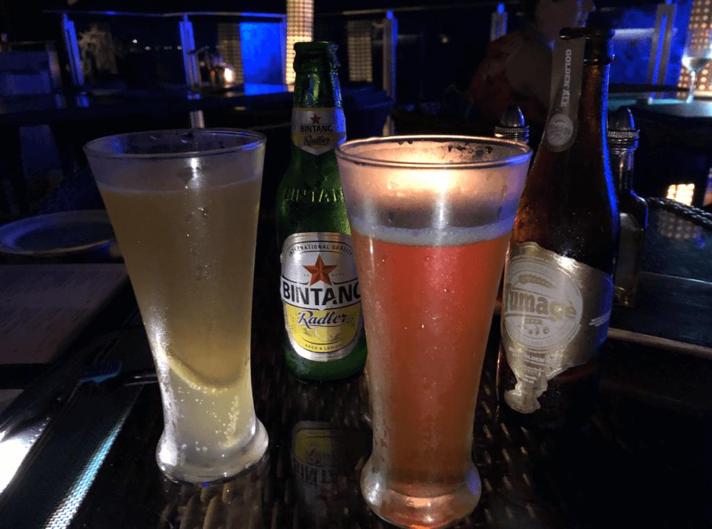 ロックバーのビンタンとクラフトビール
