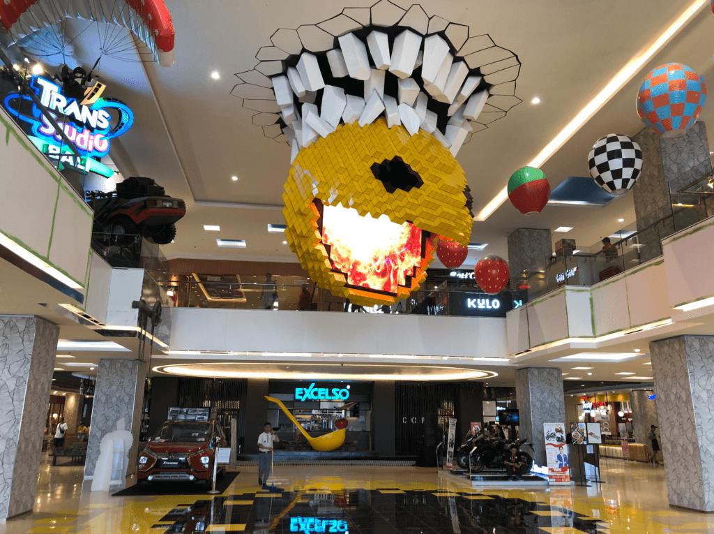 バリ島のショッピングセンター・トランススタジオモール