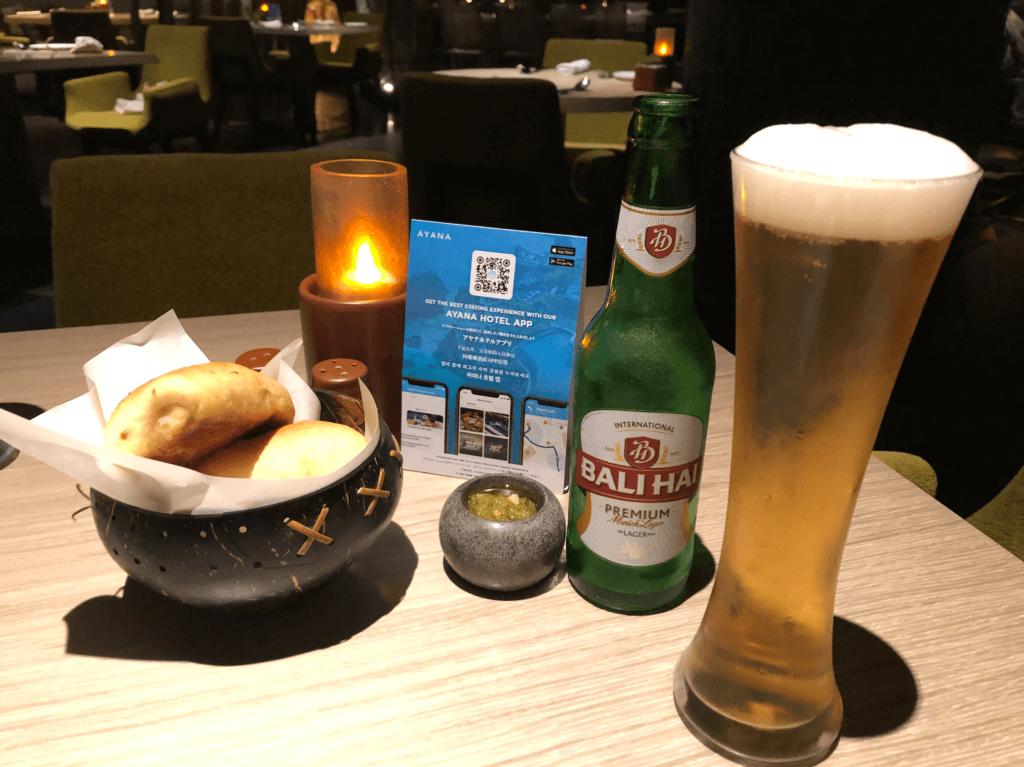 バリハイとスタークビール